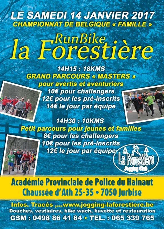 Run&Bike de Jurbise - 14 janvier 2017